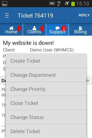AWHMCS Android App - WHMCS Documentation