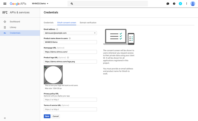 Configuring SignIn Using Google WHMCS Documentation - Google docs sign in